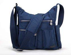 Nodykka Crossbody Bag for Women Shoulder Travel Purse Nylon Messenger Satchel Lightweight Handba ...