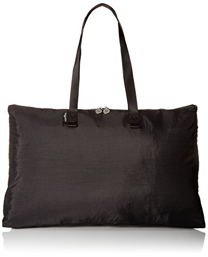 Baggallini Foldable Travel Tote, Black/Charcoal