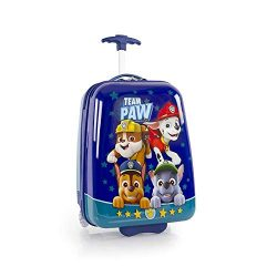 Nickelodeon PAW Patrol Lightweight Hardside Luggage for Kids – 18 Inch [Blue]