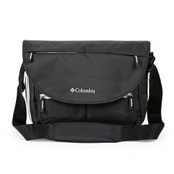 Columbia Outfitter Messenger Diaper Bag, Black