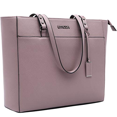 Laptop Tote Bag for Woman,13-15.6 Inch Laptop Briefcase Stand Up on its Own with Padded Compartm ...