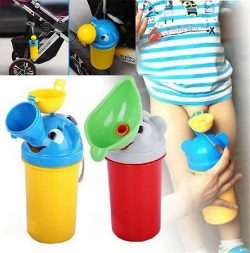 Blue Stones Portable Convenient Travel Cute Baby Urinal Kids Potty Girl Boy Car Toilet Vehicular ...
