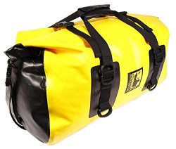 Wolfman Luggage EX80 – Expedition Dry Duffle (Large, Yellow)