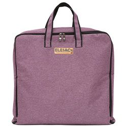 ELESAC Foldable Garment Bag,Clothing Suit Dance w/Pockets, for Business Travel