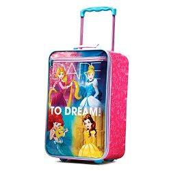 American Tourister Disney Princess 18″ Upright Softside