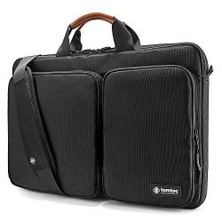 "tomtoc Original 360° Protective Laptop Shoulder Bag Compatible with 17"" – 17.3"" Dell HP Acer Asu ..."