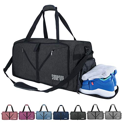 b87810d646 SUNPOW 65L Travel Duffle Bag