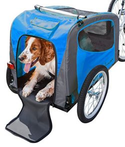 Schwinn Rascal Pet Trailer, Blue/Grey