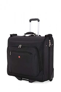 SWISSGEAR Full Sized effortless Wheeled Garment Bag – Black