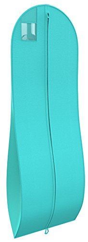 "Women's Long Dress Bag – Breathable Wedding Gown Garment Bag -72×24"", 10"" Gusset"