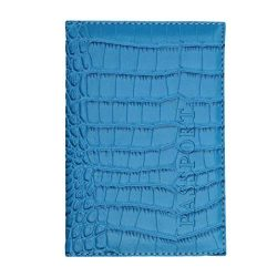 Kimloog Clearance!PU Leather Passport Cover Holder RFID Blocking Men Women Travel Wallets (Sky Blue)