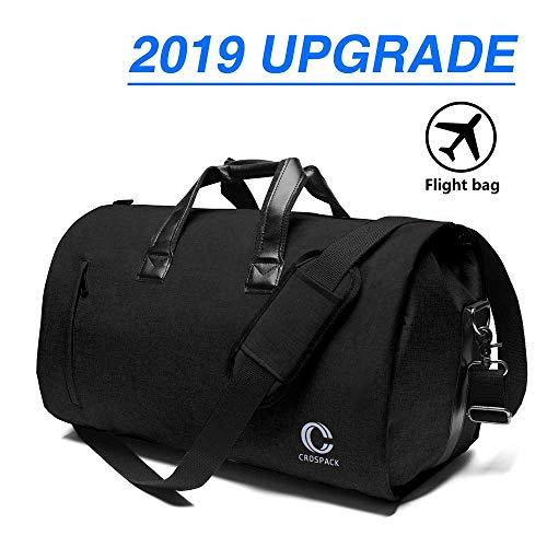 Crospack Suit Carry On Garment Bag Travel Business Trips With Shoulder Strap e43dedcea267f