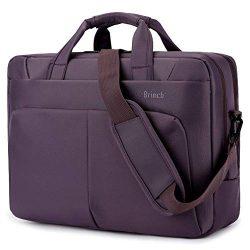 BRINCH Laptop Bag 17.3 Inch Water Resistant Nylon Messenger Bag Travel Briefcase Laptop Shoulder ...