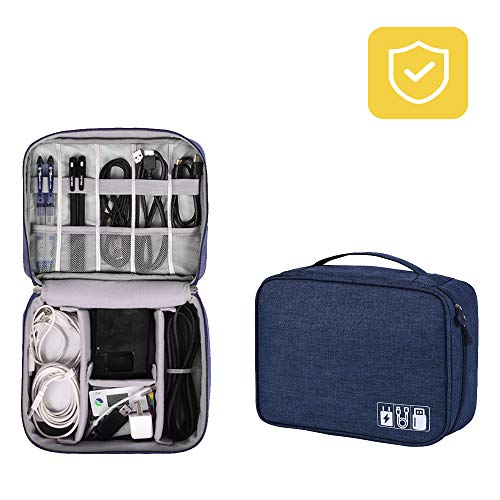 Cable Bag- Packing Organizers Travel Case Cable Bag Convenient Size Appropriate, Protecting the  ...