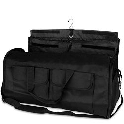 Olivia & Aiden Travel Garment Bag (2-in-1) Convertible Duffel and Hanging Carry On
