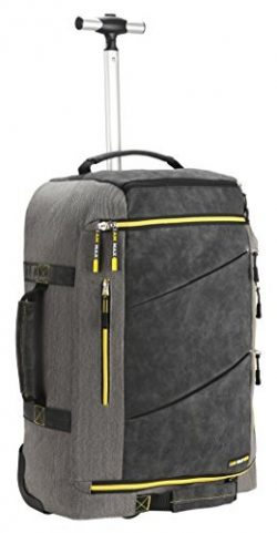 Cabin Max️ Manhattan 2.0 Laptop Backpack with Wheels – Carry On Luggage 22x14x9 6.3 ...