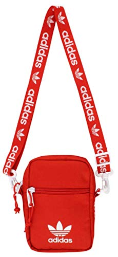 adidas Originals Festival Crossbody Bag, Red, One Size