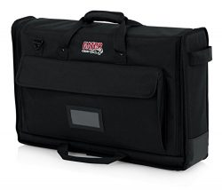Gator Cases Padded Nylon Carry Tote Bag for Transporting LCD Screens, Monitors and TVs Between 1 ...