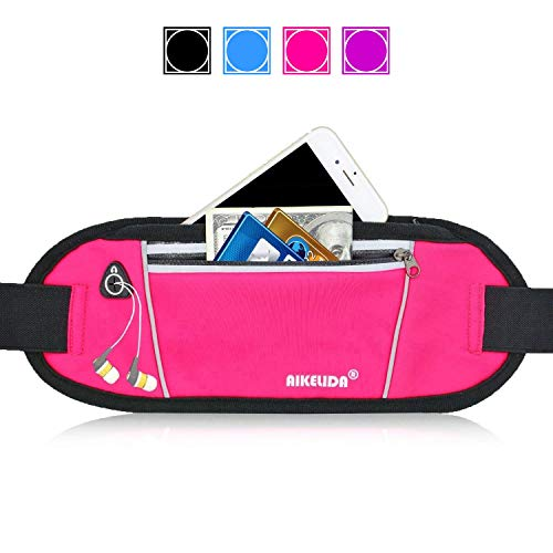 AIKELIDA Running Belt Fanny Pack – Runners Belt Waist Pack Fitness Gear Accessories – ...