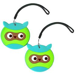 Nido Nest Kids Luggage Name Tags for Children – ID Bag Tag For Airplane Travel, Trips, Bac ...