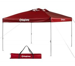 KingCamp Canopy 10 x 10 Feet Outdoor Camping Instant Tent Sun Shade Portable Folding Collapsible ...