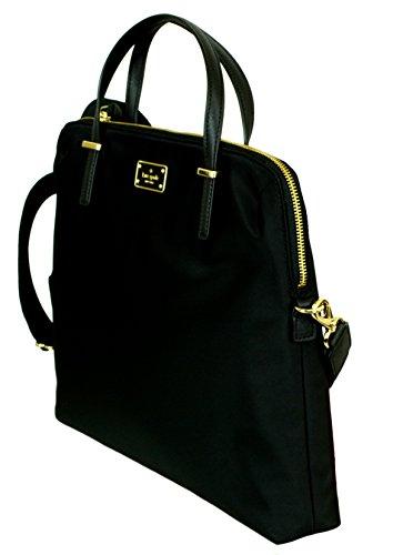 Kate Spade New York Daveney Wilson Road Laptop Shoulder Bag (Black)