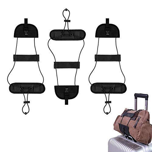 Lcgs Bag Bungee, 3 Pack Luggage Straps Suitcase Adjustable Belt – Lightweight and Durable  ...
