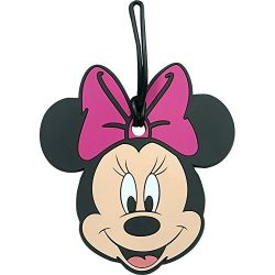 Disney Minnie Mouse Collectors Luggage Suitcase Tag – Pink Bow