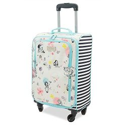 Disney Disney Animators' Collection Rolling Luggage Multi