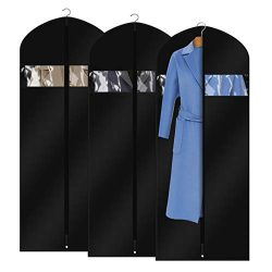 FCNEHLM Garment Bags Suit Travel Bag for Men & Women, Washable Suit Cover and Breathable Dre ...