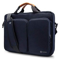"tomtoc Travel Messenger Bag 15.6"" with Protective Laptop Compartment Briefcase Shoulder Bag Fit  ..."