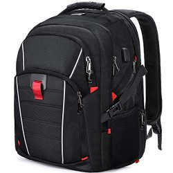 Laptop Backpack Extra Large Travel College Backpacks for Women Men Waterproof Business Computer  ...