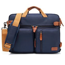 CoolBELL Convertible Backpack Messenger Bag Shoulder Bag Laptop Case Handbag Business Briefcase  ...