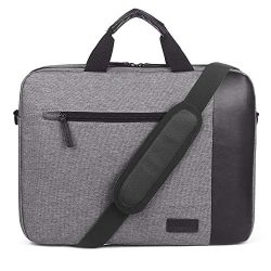 CoolBELL 15.6 Inch Laptop Bag Portable Briefcase Include Shoulder Strap Simple Style Laptop Case ...