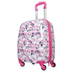 Disney Minnie Mouse Unicorn Rolling Luggage