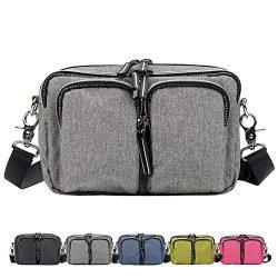 DivaCat Fanny Packs for Women Men Duable Multiple Large Size Waist Bag Light Weight Water Resist ...
