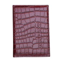 Kimloog Clearance!PU Leather Passport Cover Holder RFID Blocking Men Women Travel Wallets (Brown)