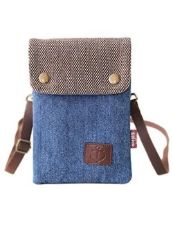 Cell Phone Holder Mini Crossbody Crossbody Purse Shoulder Bag Smartphone Wristlet Wallet Women&# ...