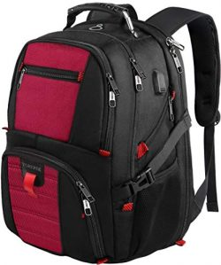 Laptop Backpacks,Extra Large Backpack with USB Charging Port,TSA Friendly Travel Computer Backpa ...