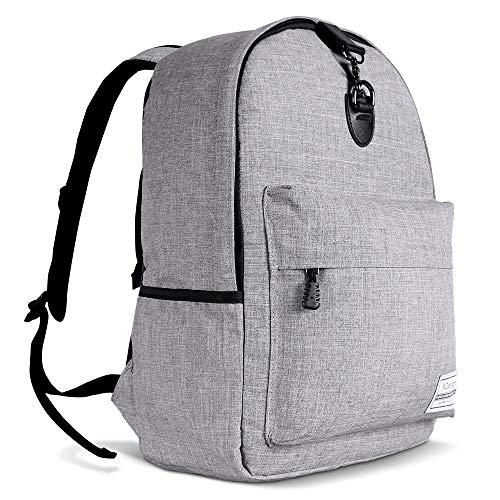 XDesign Travel Laptop Backpack with USB Charging Port +Anti-Theft Lock [Water Resistant] Slim Du ...