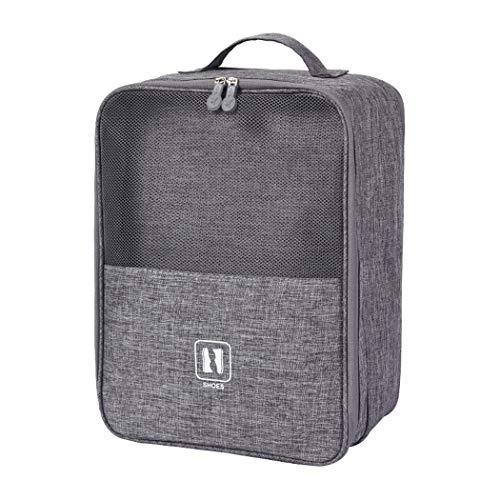 Shoe Storage Bag,Zipper Waterproof Portable Travel Shoe Bag,Holds 3 Pair of Shoes