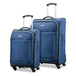 Samsonite Advance Xlt Lightweight 2 Piece Softside Set (21″/29″), Navy, Exclusive to ...