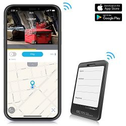 Luggage Tracker Device with App, Bluetooth Trackers Tag for Suitcase Baggage – Anti-Lost S ...