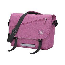 OIWAS Canvas Messenger Bag Pack – Leisure 15 Inch Laptop Shoulder Satchel Briefcase Backpa ...