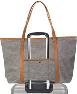 Carry On Laptop Tote Bag for Womens Large Weekender Travel Away Luggage Totes