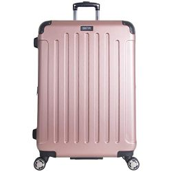 Kenneth Cole Reaction Renegade 28″ Hardside Expandable 8-Wheel Spinner Checked Luggage, Ro ...