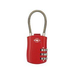 Yiping Brand New and Luggage Lock,Travel TSA Luggage Lock 3 Digit Combination Suitcase Locks (Co ...