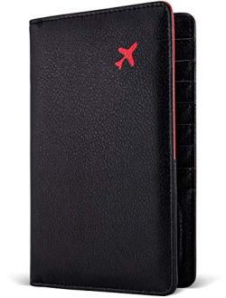 Passport Holder by POCKT – RFID Blocking Travel Wallet for Safe Trip, Document Organizer + ...