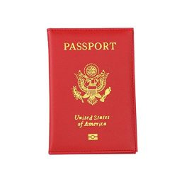 Pocciol Passport Cover, 2018 Newly Unisex Soft Touch Passport Holder Protector Business Card Cov ...