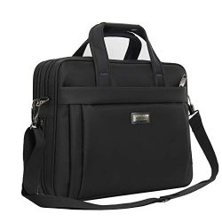 Laptop Bag 15.6 Inch, Business Briefcase, Durable Computer Case Tablet Sleeve for Men/Women/Coll ...